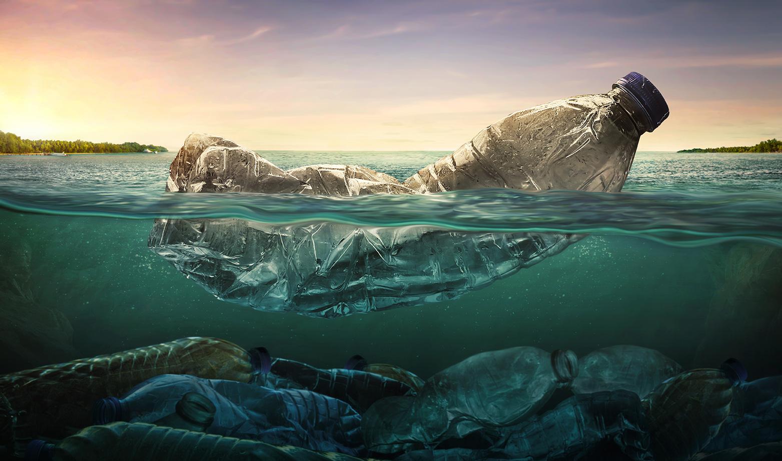 ochrona środowiska śmieci w wodzie